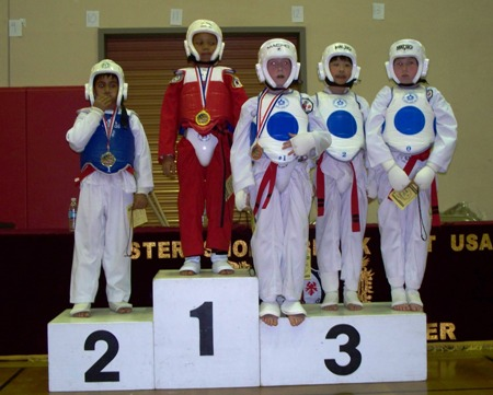 video clip tae kwon do: